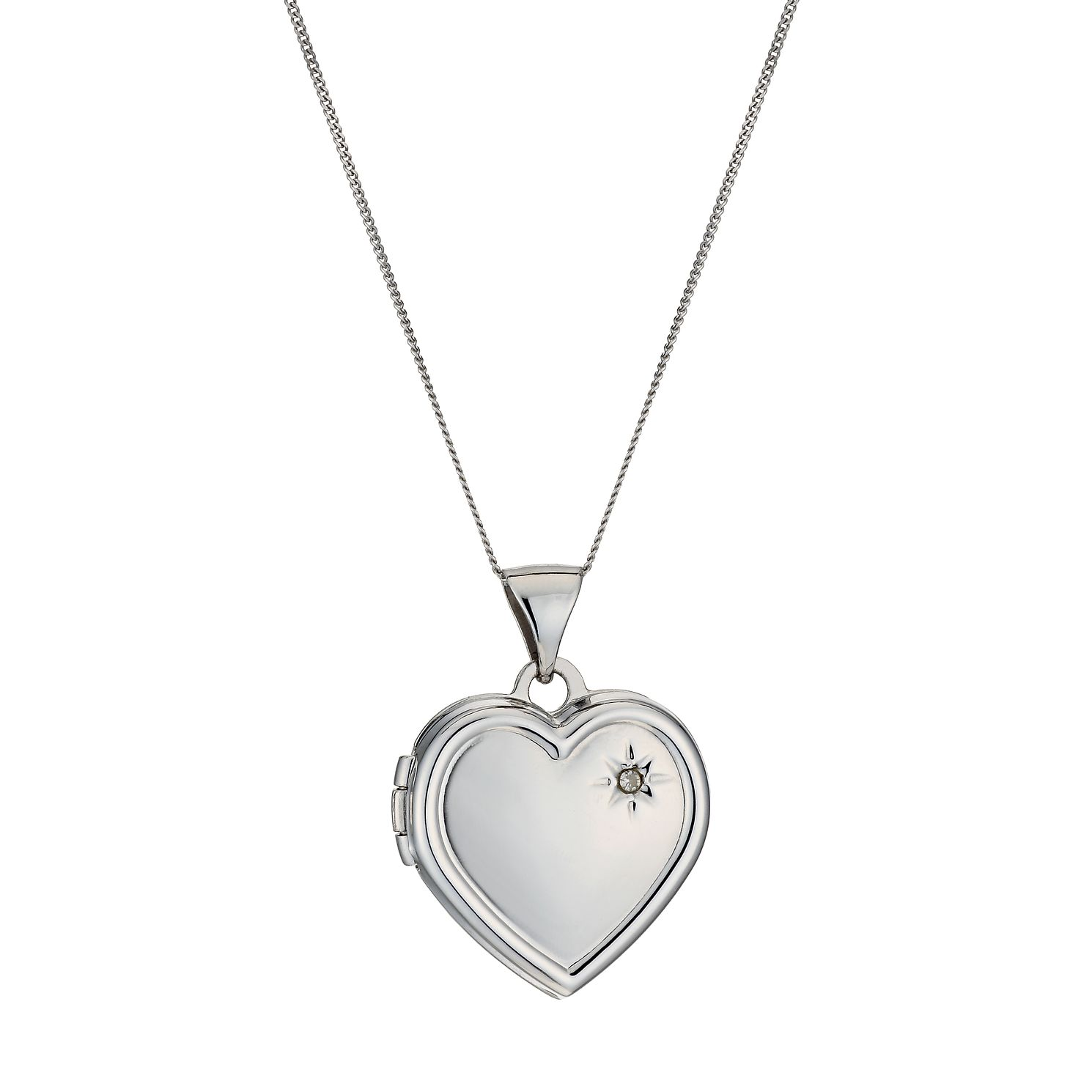 diamond webstore ernest jones jewellery number l locket white product half necklaces category lockets style gold heart set