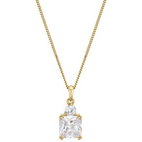 Buckley London Yellow Tone Plated Meghan Sparkle Pendant - Product number 1011944