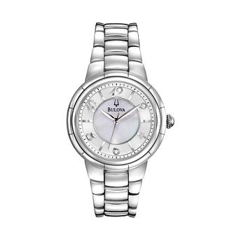 Bulova Ladies' Stainless Steel Bracelet Watch - Product number 1013017