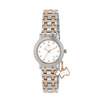 Radley Ladies' Stone Set Two Tone Bracelet Watch - Product number 1013467