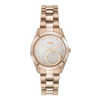 Storm Ladies' Rose Gold-Plated Bracelet Watch - Product number 1014986
