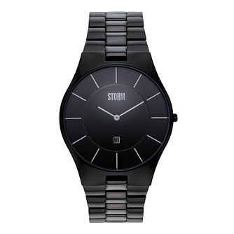Storm Men's Black Ion-Plated Bracelet Watch - Product number 1015001