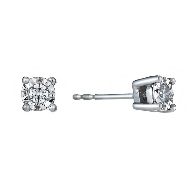 stud round product earring diamond gold sarkisians earrings ctw white platinum