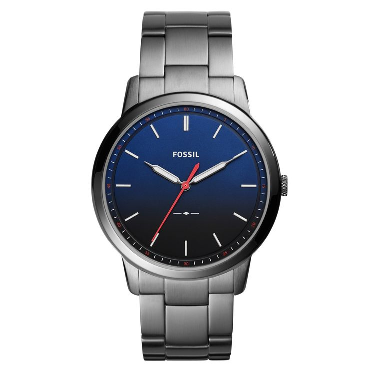 Fossil The Minimalist Men's Stainless Steel Bracelet Watch - Product number 1023004