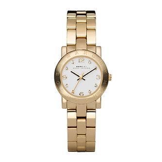 Marc Jacobs Mini Ladies' Gold Tone Bracelet Watch - Product number 1028103
