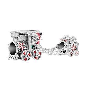 Chamilia Santa's Train Charm with Enamel & Swarovski Crystal - Product number 1032232