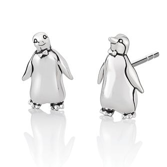 Chamilia Disney Mary Poppins Tuxedo Penguin Stud Earrings - Product number 1032410