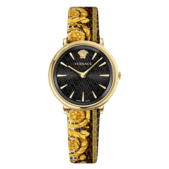 Versace V-Circle Ladies' Baroque Strap Watch - Product number 1041053