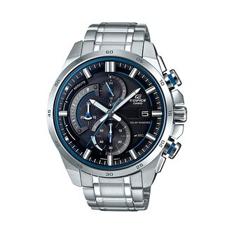 Casio Edifice Stainless Steel Double Dial Bracelet Watch - Product number 1044931