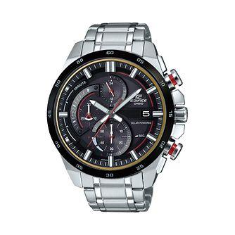 Casio Edifice Stainless Steel Black Dial Bracelet Watch - Product number 1044982