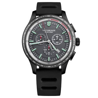 Victorinox Alliance Sport Men's Black Rubber Strap Watch - Product number 1045091