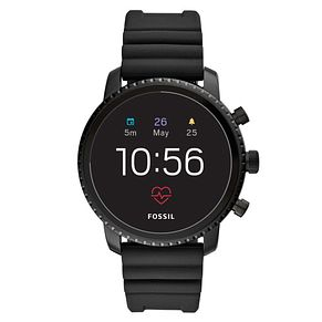 Fossil Q Explorist Gen 4 Men's Black Ion Plated Smartwatch - Product number 1061003