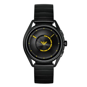 Emporio Armani Connected Men's Matteo Black Smartwatch - Product number 1061097