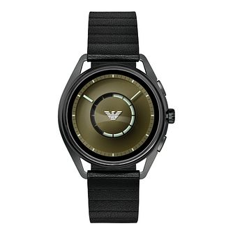 Emporio Armani Connected Men's Matteo Gunmetal Smartwatch - Product number 1061119