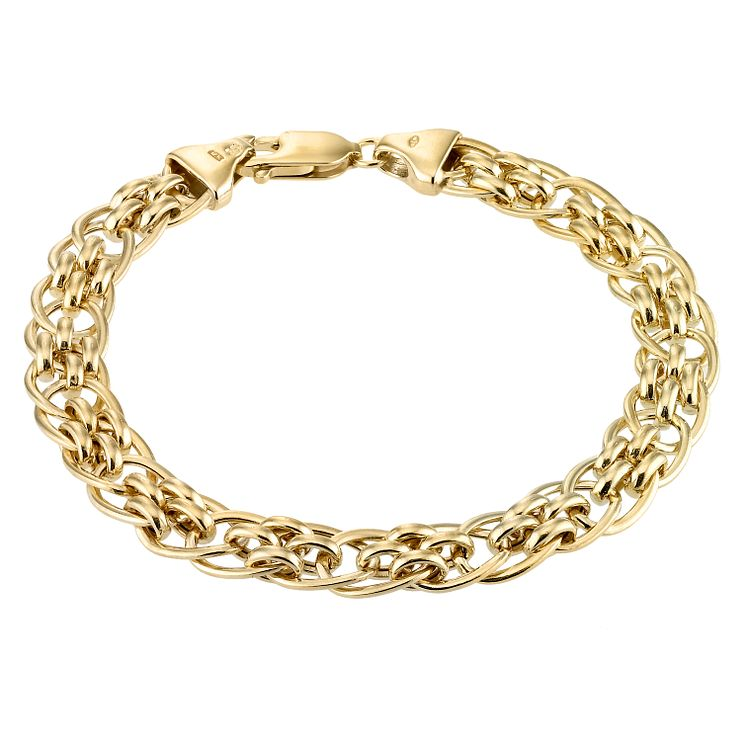 Yellow Gold Bracelets | H.Samuel