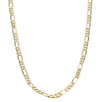 "9ct Yellow Gold 20"" Fiagro Necklace - Product number 1065661"