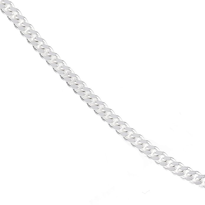 "Sterling silver 24"" Curb Chain Necklace - Product number 1070657"