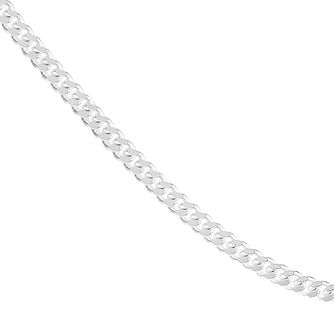 "Sterling Silver 18"" Curb Chain Necklace - Product number 1070665"