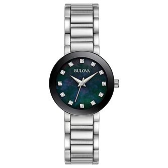Bulova Ladies' Stainless Steel Modern Watch - Product number 1073664