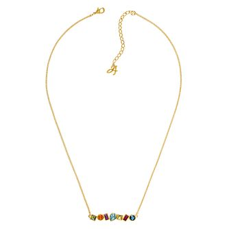 Adore Ladies' Mixed Crystal Drop Necklace - Product number 1074881