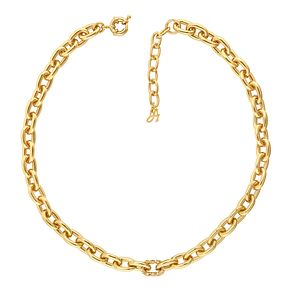 Adore Ladies' Yellow Gold Plated Lozenge Necklace - Product number 1075284