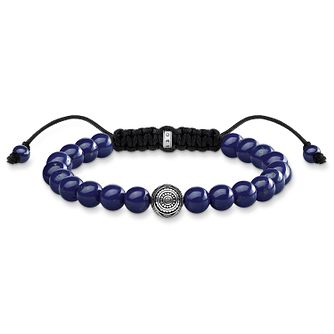 Thomas Sabo Men's Rebel at Heart Blue Beaded Bracelet - Product number 1075691