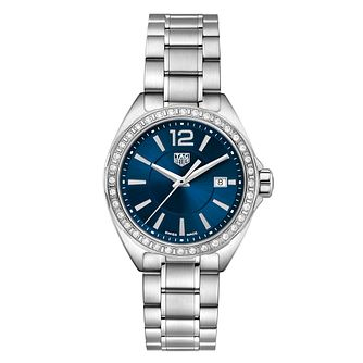 TAG Heuer Ladies Formula 1 Blue Dial Bracelet Watch - Product number 1075845