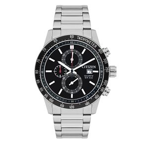 Citizen Men's Black Dial Chronograph Bracelet Watch - Product number 1077732