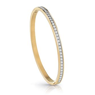 Guess Gold Plated Crystal Bangle - Product number 1082833