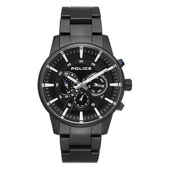 Police Avondale Men's Black Bracelet Watch - Product number 1084038