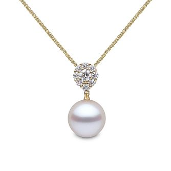 Yoko London 18ct Gold Cultured Freshwater Pearl Pendant - Product number 1084798