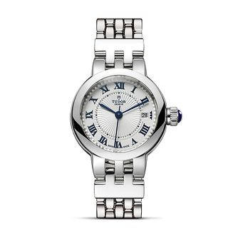 Tudor Ladies' Stainless Steel Clair de Rose Bracelet Watch - Product number 1090844