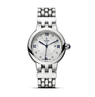 Tudor Ladies' Stainless Steel Clair de Rose Bracelet Watch - Product number 1090879