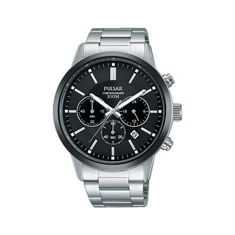 Pulsar Men's Chronograph 100M Bracelet Watch - Product number 1092278