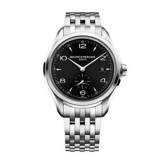 Baume & Mercier Clifton men's stainless steel bracelet watch - Product number 1103490