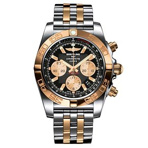 Breitling Chronomat 44 men's two-tone bracelet watch - Product number 1107690