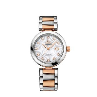 Omega De Ville Ladymatic ladies' diamond bracelet watch - Product number 1118374