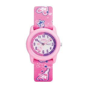 Timex Kidz Girl's Tutu Ballerina Fabric Strap Watch - Product number 1120662