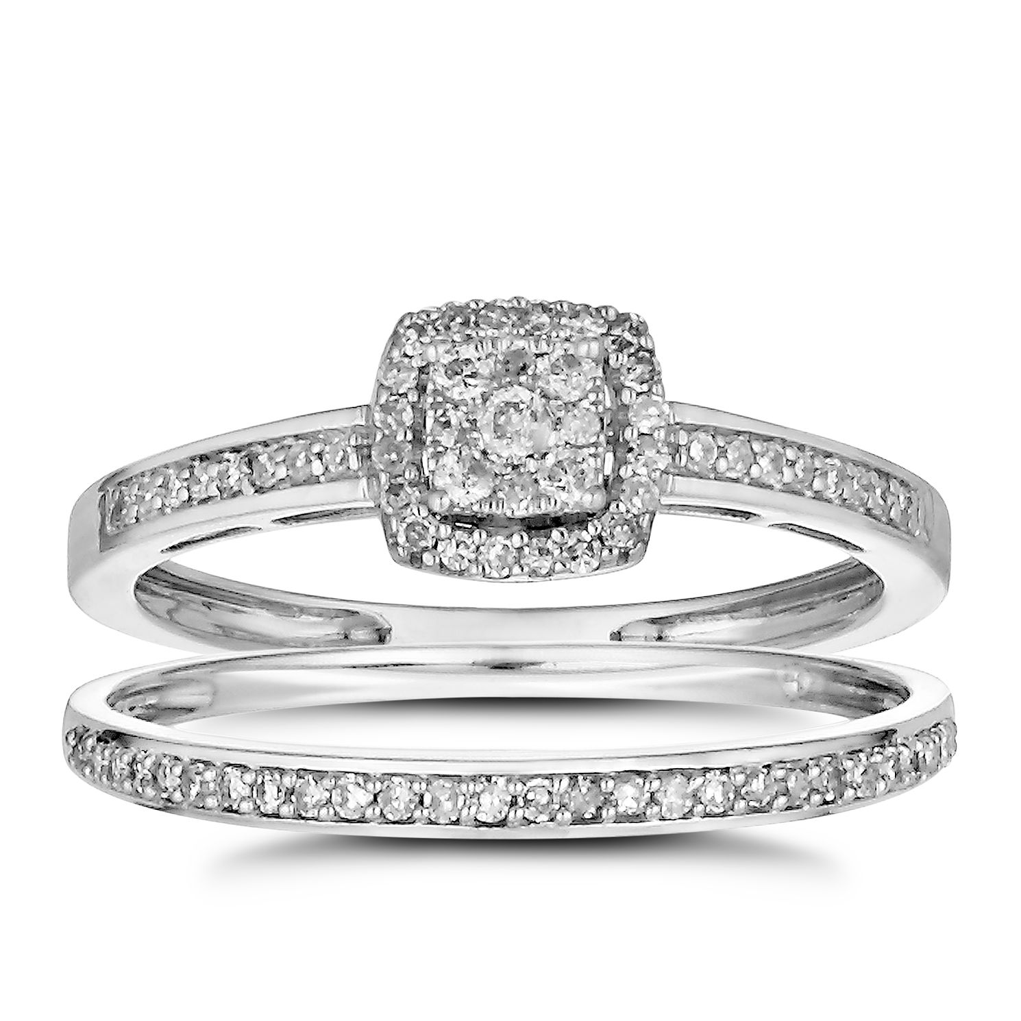 rings avanti deco wedding cluster ring engagement image womens diamond inspired square platinum