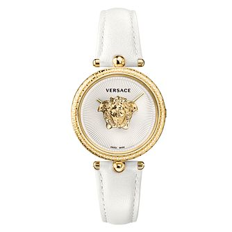 Versace Palazzo Ladies' White Leather Strap Watch - Product number 1127594