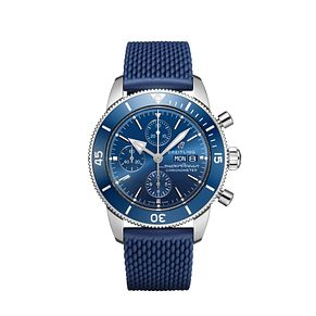 Breitling Men's Superocean Chronograph 44 Blue Strap Watch - Product number 1128744