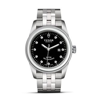 Tudor Ladies' Diamond Set Stainless Steel Bracelet Watch - Product number 1129260