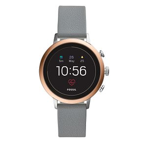 Fossil Q Explorist Gen 4 Digital Grey Silicone Strap Watch - Product number 1138626