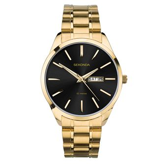 Sekonda Men's Gold Tone Bracelet Watch - Product number 1141449