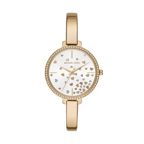 Michael Kors Jaryn Ladies' Yellow Gold Plated Bangle Watch - Product number 1142569