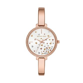 Michael Kors Jaryn Ladies' Rose Gold Plated Bangle Watch - Product number 1142577