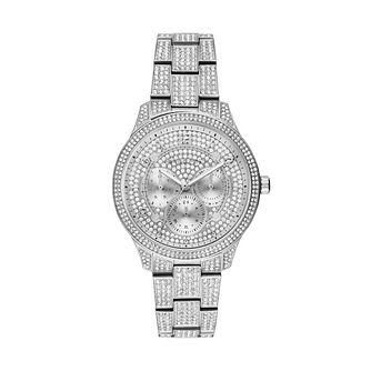 Michael Kors Runway Glitz Stainless Steel Bracelet Watch - Product number 1142607
