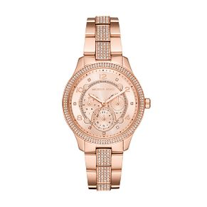 Michael Kors Runway Rose Gold Plated Bracelet Watch - Product number 1142623