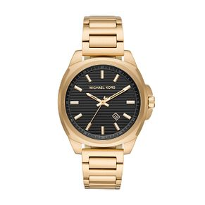 Michael Kors Men's Bryson Gold Plated Bracelet Watch - Product number 1142755