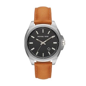 Michael Kors Men's Bryson Tan Leather Strap Watch - Product number 1142763